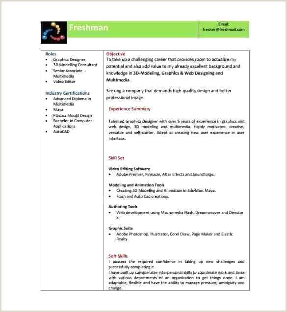 Fresher Cv Format Free Download Free Downloadable Curriculum Vitae Sample Resume Format