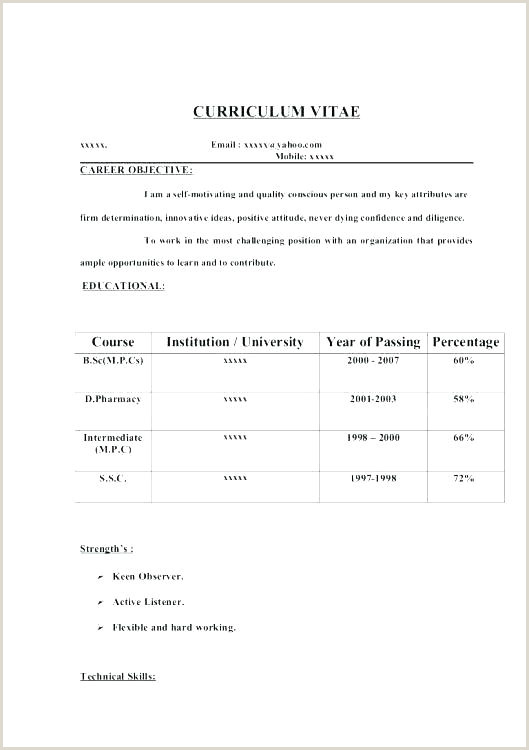 Fresher Cv Format Pakistan Fresher Resume Sample – Growthnotes