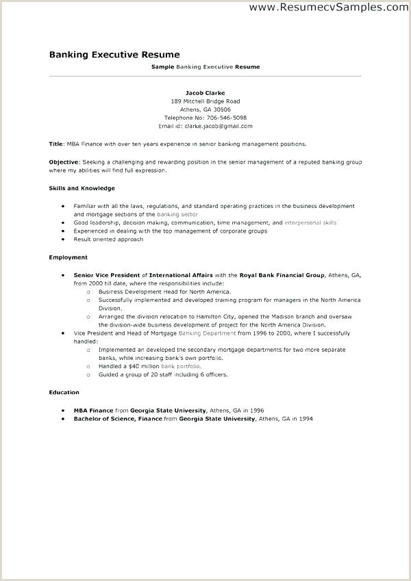 Fresher Job Cv format Resume Examples for Banking Jobs – Joefitnessstore