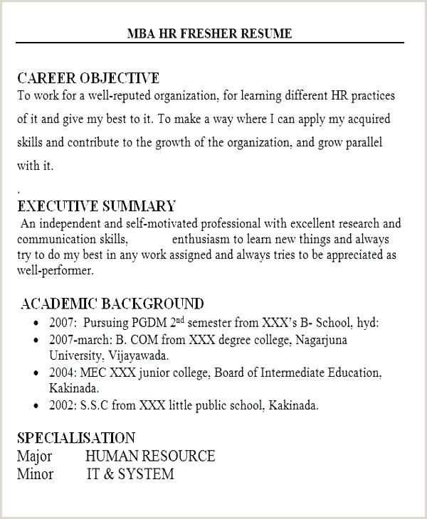 Fresher Resume format B.com Resume Templates Job Objective Sample tourism Career