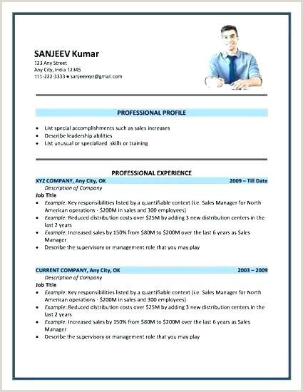 Fresher Resume format Doc File New Resume format Sample – Joefitnessstore