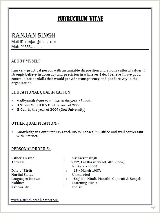 Fresher Resume format Doc File Related Post Sample Resume Templates Word Document Template