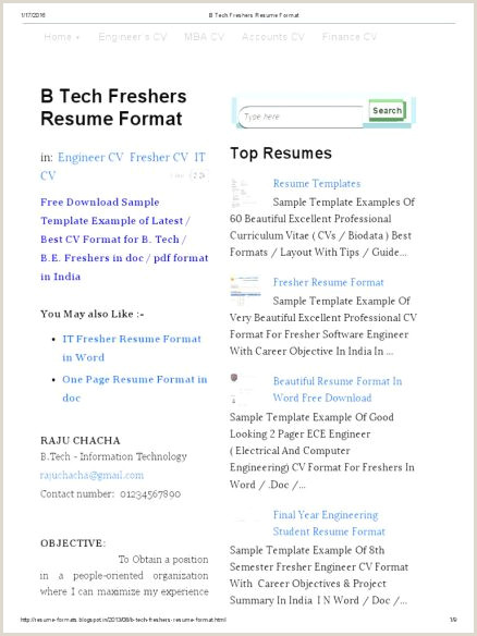 Fresher Resume Format Doc India Nice Cv Format Resume Samples S Sample At Aasaanjobs