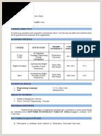 Fresher Resume format Docx Fresher S Resumecx Microsoft
