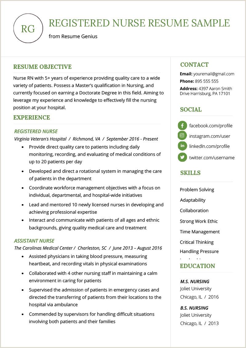 Fresher Resume format Docx Nursing Curriculum Vitae Examples Google Search