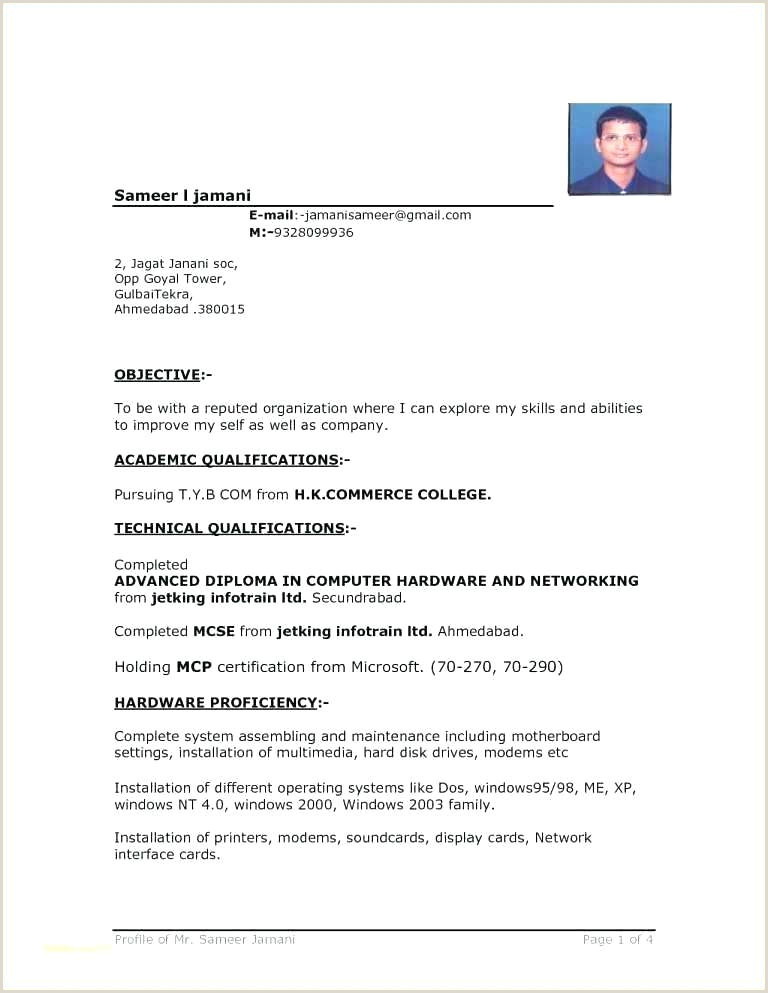 Fresher Resume Format Download In Ms Word For Teacher Format Curriculum Vitae Ms Word Resume Sample Free Download