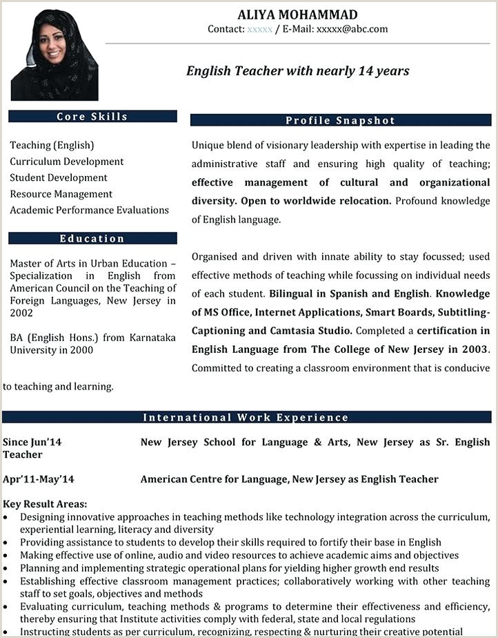 Fresher Resume Format Download In Ms Word For Teacher Teacher Resume Format – Paknts