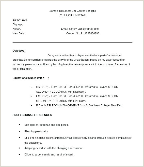 Fresher Resume Format Download In Ms Word India Resume Template 7 Free Samples Examples Format Download