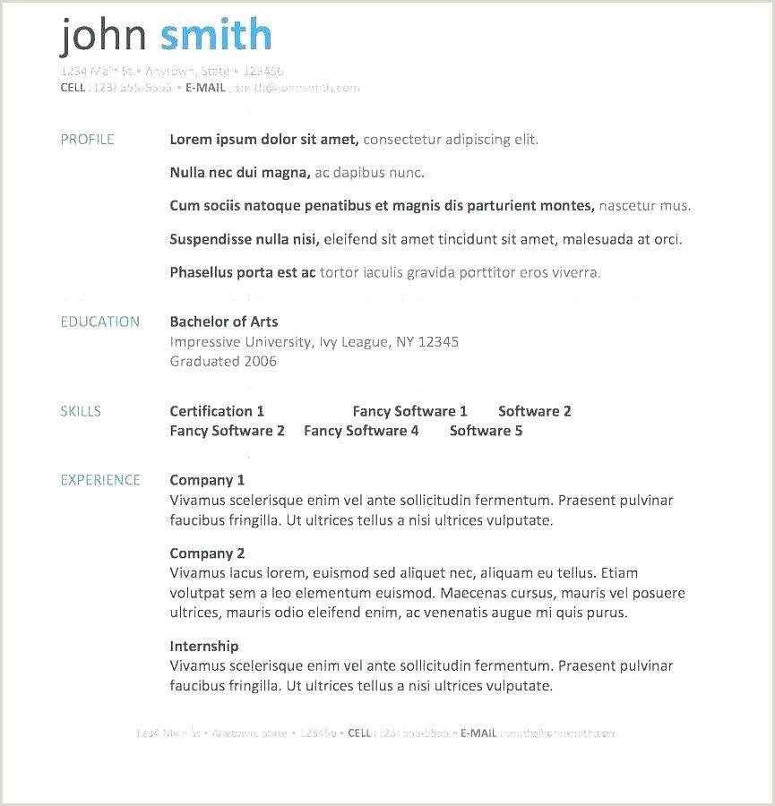Fresher Resume format Download In Ms Word Resume format Template Word – Cocinacolibri