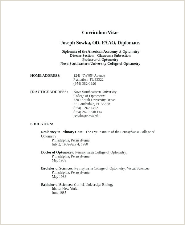 Fresher Resume format Download In Ms Word Simple Curriculum Vitae Template – Musacreative
