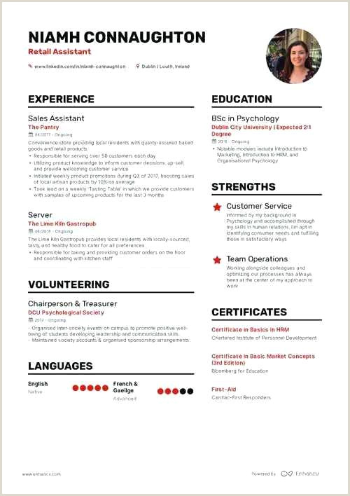 Fresher Resume Format Edit The Best Fresher Resume Formats And Samples Retail Resume