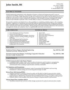 Fresher Resume format Electrical Engineer 10 Best Electrical Engineer Resume Templates & Samples