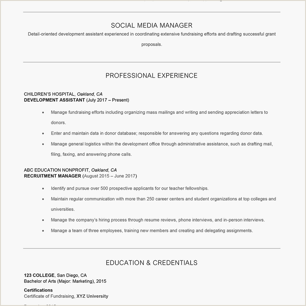 Fresher Resume format for Accountant How to Add A Branding Statement to Your Resume