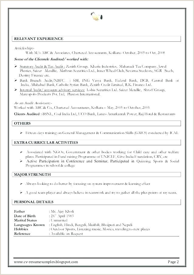 Fresher Resume format for Accountant Resume Accountant Sample – Joefitnessstore