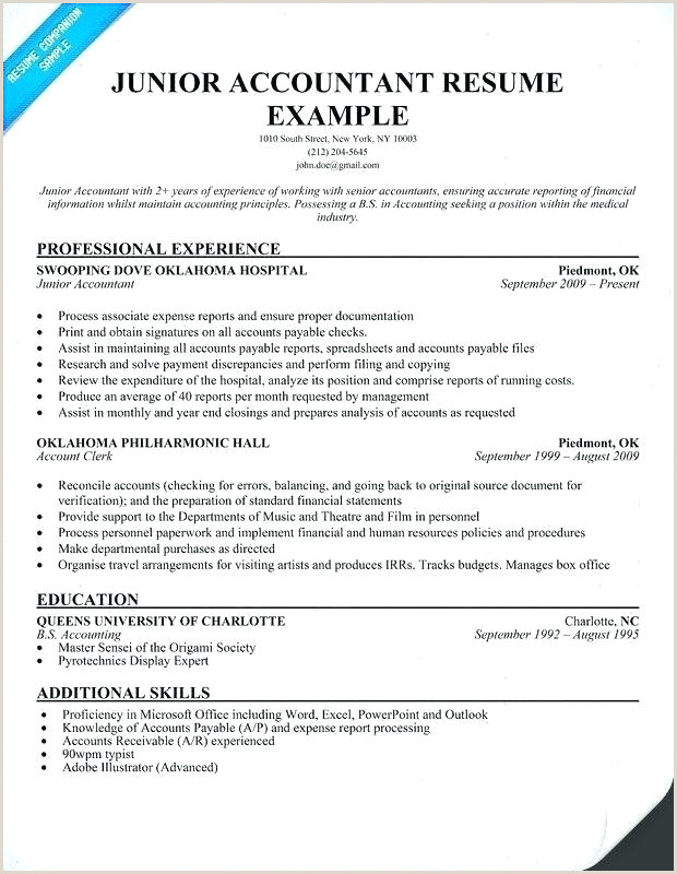 Fresher Resume format for Accountant Resume for Accountants – Englishor
