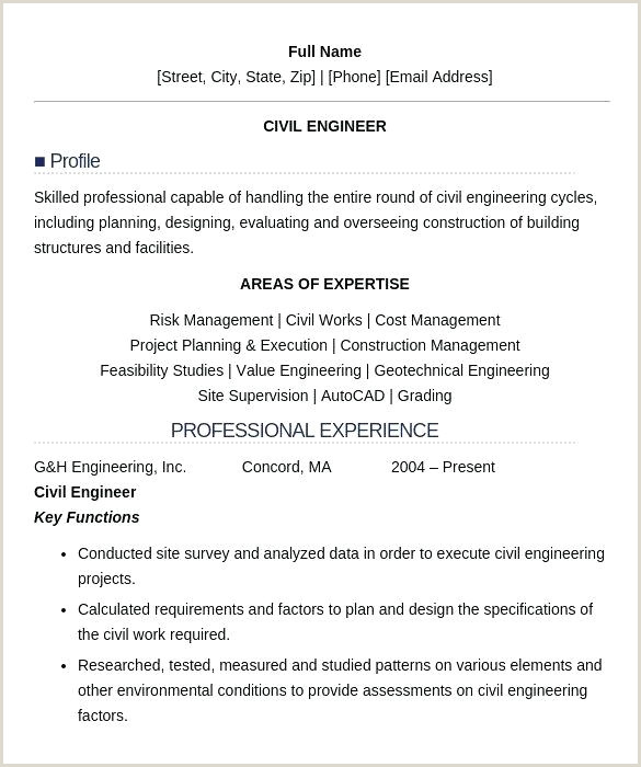 Fresher Resume format for B.tech Civil Civil Engineering Resume Template – Growthnotes