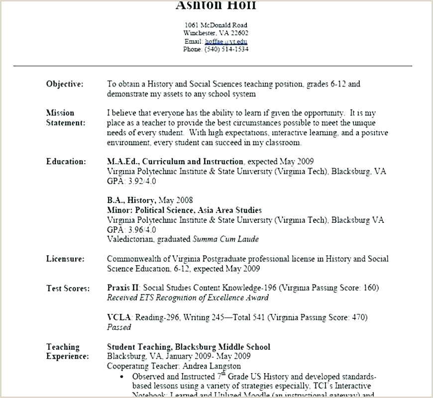 Fresher Resume Format For B.tech Cse Science Resume Template