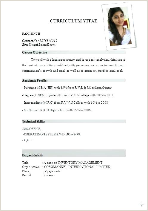 Fresher Resume format for B.tech Ece Free Download Rose Glen north Dakota ⁓ Try these Cv format for Mechanical
