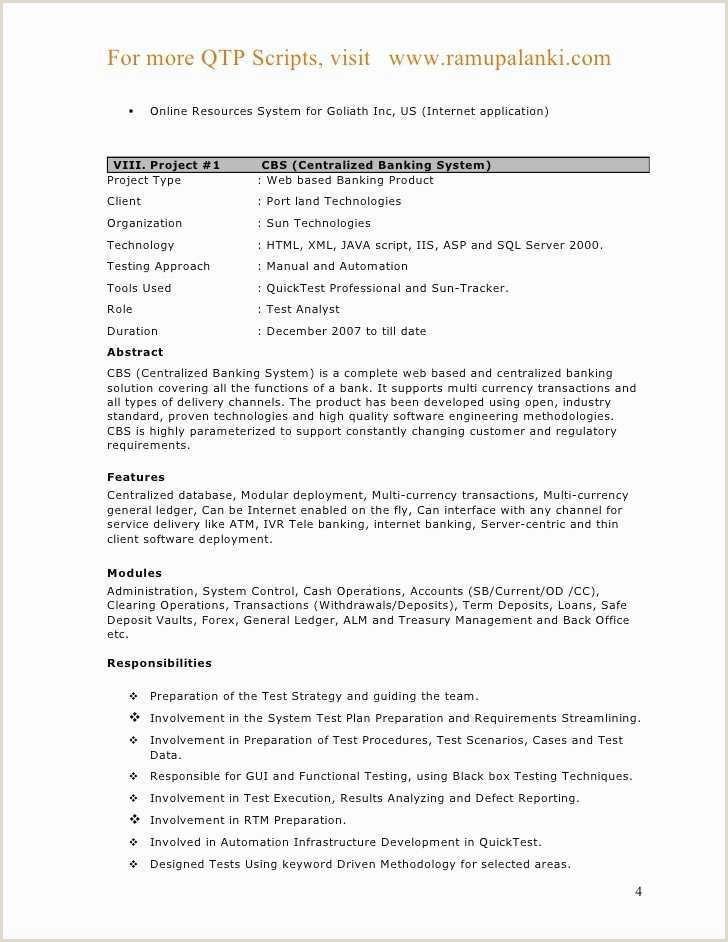 Fresher Resume format for Banking 40 Inspirational Fresher Resume for It Jobs