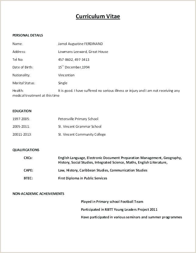 Fresher Resume Format For Bcom Resume Format Doc – Paknts