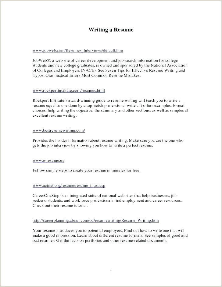Fresher Resume Format For Biotechnology The Perfect Resume Format – Paknts