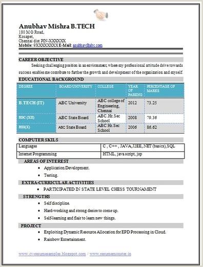 Fresher Resume Format For Biotechnology Write An Essay On My School Line Argumentative Essay