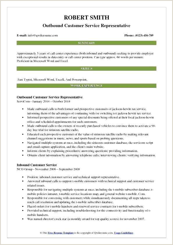 Fresher Resume format for Bpo Call Center Resume – Emelcotest