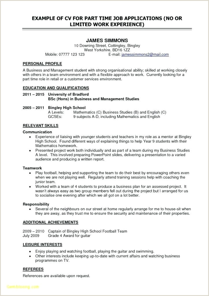 Fresher Resume format for Bsc Maths Example Resume format Free 16 Inspirational Resume format