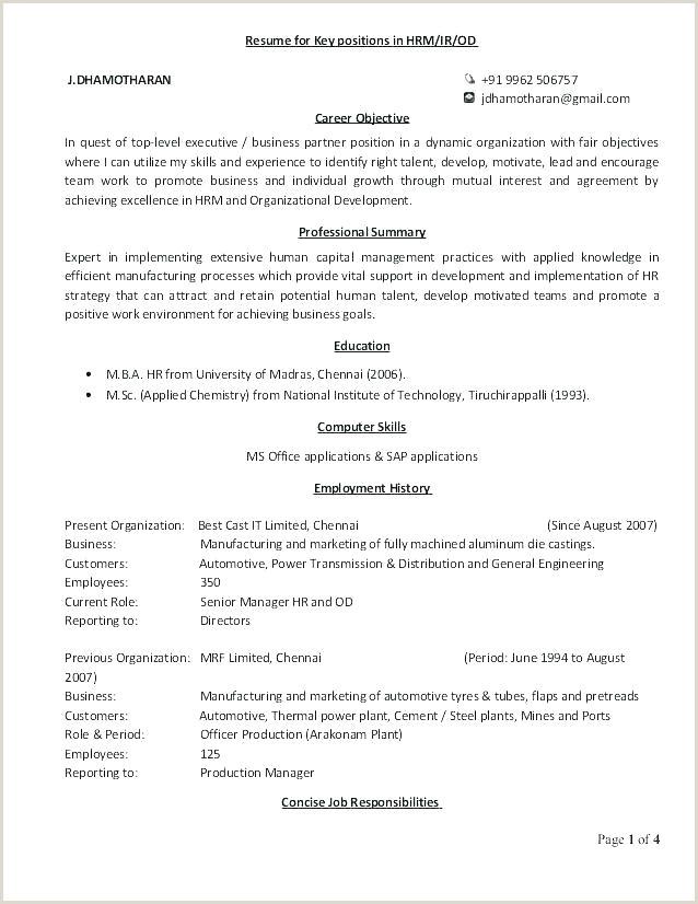 Fresher Resume Format For Business Development Objective For Resume For Freshers – Newskeyfo