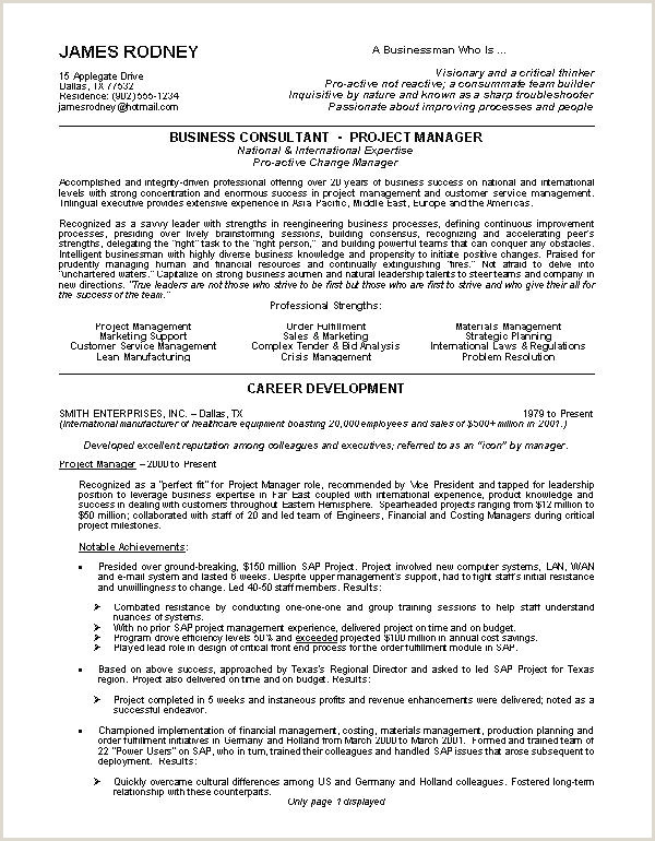 Fresher Resume format for Business Development Sample Of Best Resume format – Wlcolombia