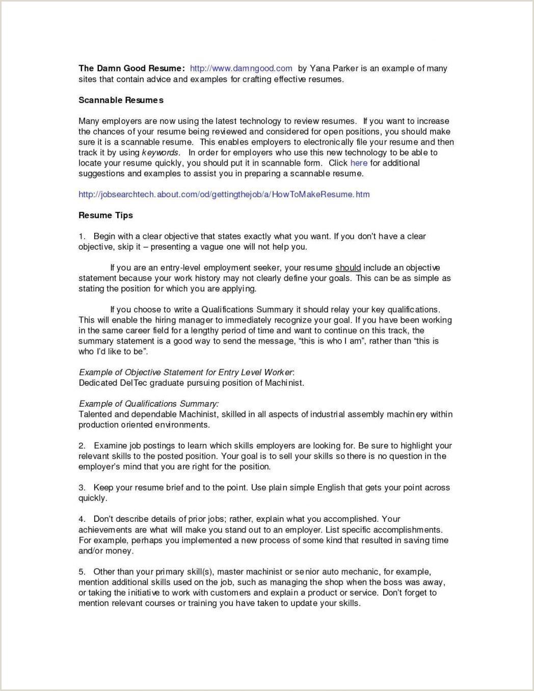 Fresher Resume Format For Call Center Job Carpenter Skills New Formats Cv Sample Luxury Format It