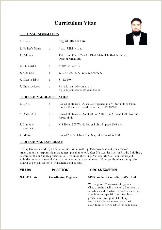 Fresher Resume Format For Civil Engineer Technical Resume Format – Joefitnessstore