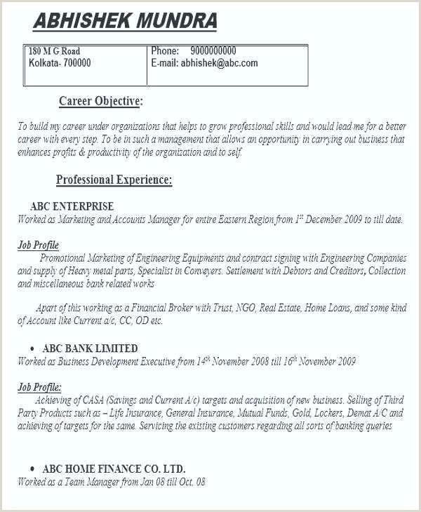 Fresher Resume Format For Eee Engineers Resume Template Career Objective