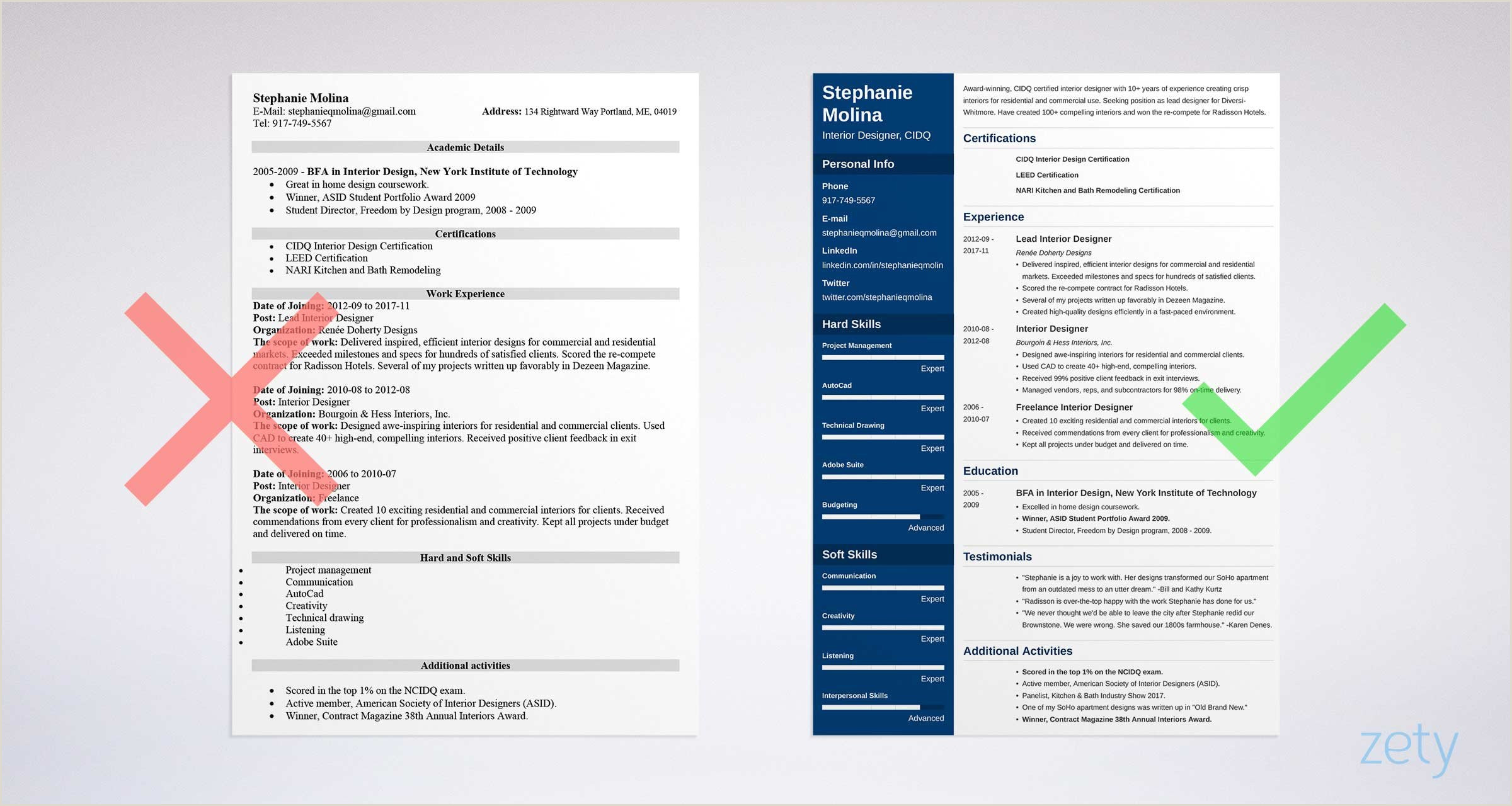 Fresher Resume format for Graphic Designer 17 Free Resume Templates Downloadable