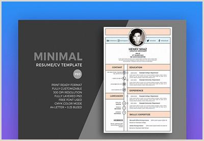 Fresher Resume Format For Graphic Designer 19 Best Web & Graphic Designer Resume Templates For 2019