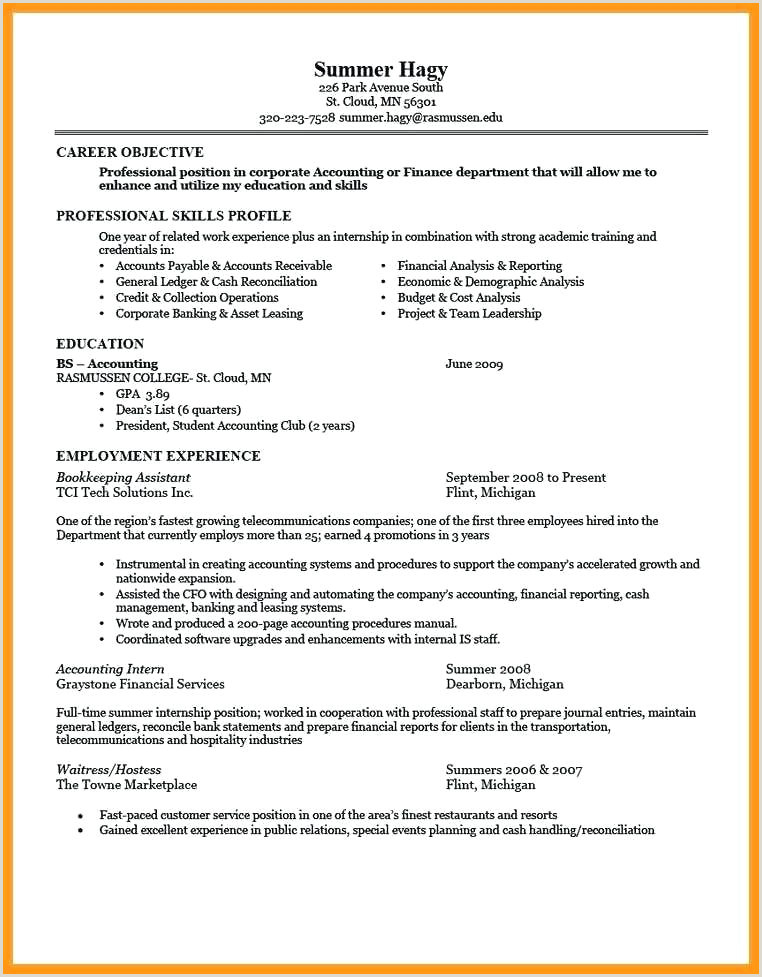 Fresher Resume format for Hotel Management Successful Resume format – Airexpresscarrier