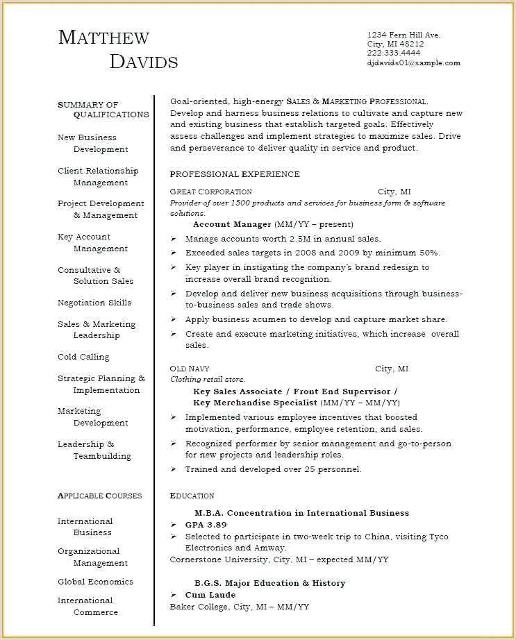 Fresher Resume format for Hr Application Packaging Fresher Resume