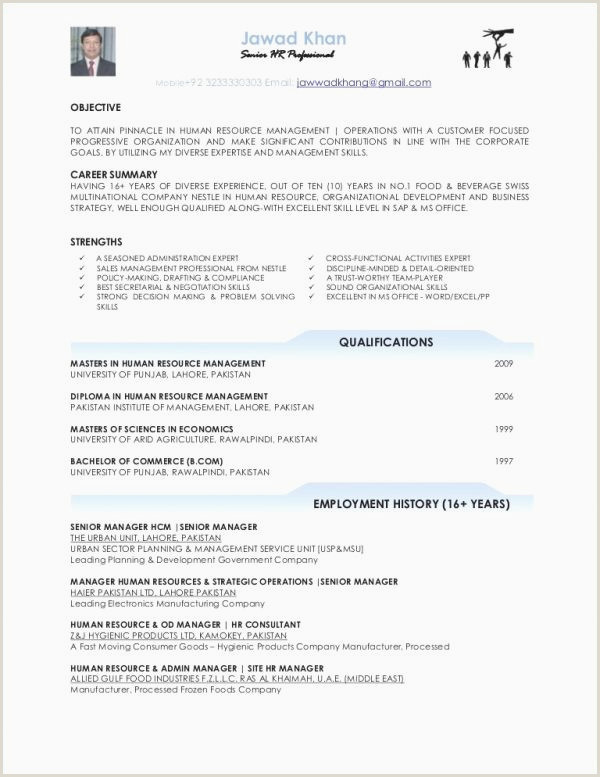 Fresher Resume format for Hr Sample Resume for Sap Pp New Sap Pp Fresher Resume