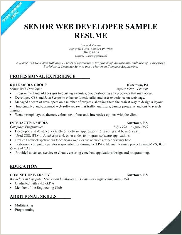 Fresher Resume Format For Java Developer Developer Resume Examples – Joefitnessstore