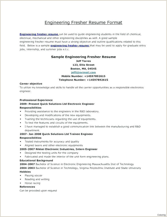 Fresher Resume format for Java Resume Headline for Fresher Engineer Resume Headline for