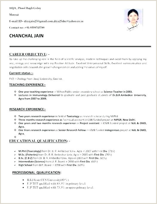 Fresher Resume Format For Job Interview Resume Teaching Job – Johnsimpson
