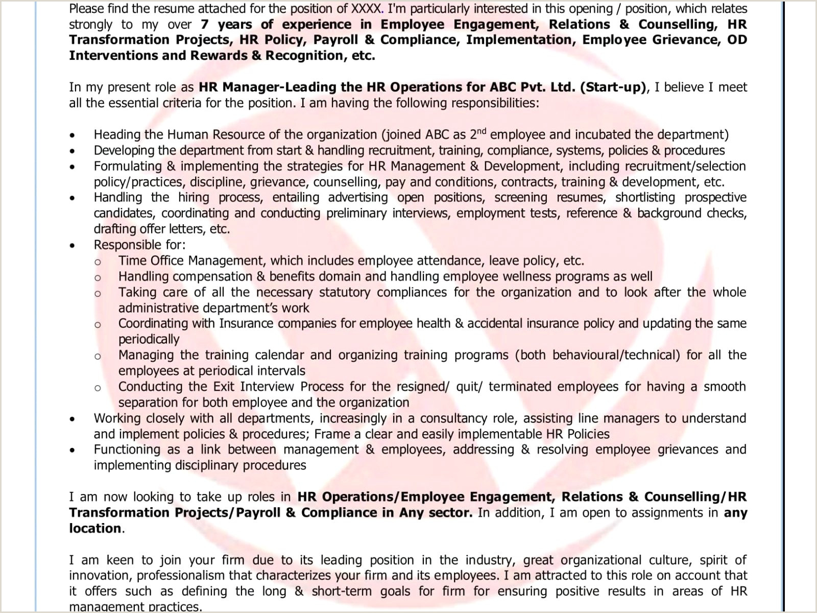 Fresher Resume Format For Lecturer Post Cv Format For Freshers In Word Free Download Einzigartig