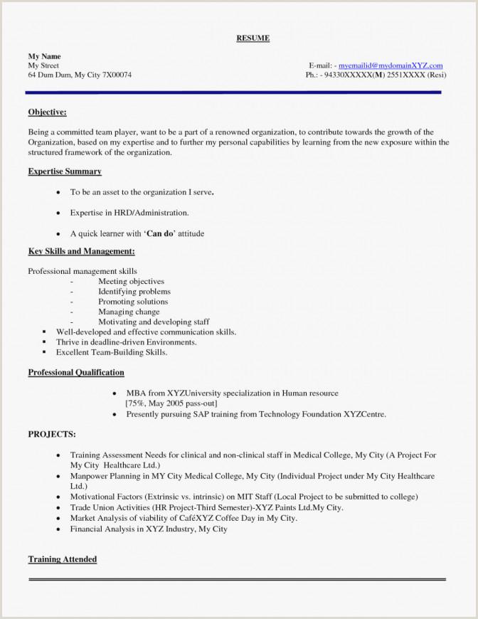 Fresher Resume Format For Lecturer Post Example Teacher Resume Objective Good Teachers Best
