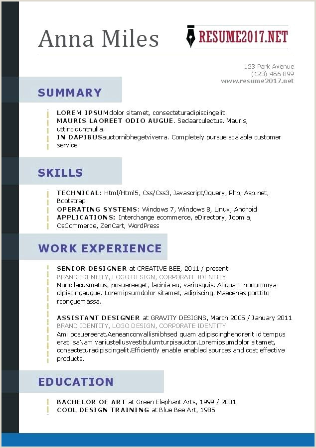 Fresher Resume format for Linux How to format A Resume On Word – Paknts