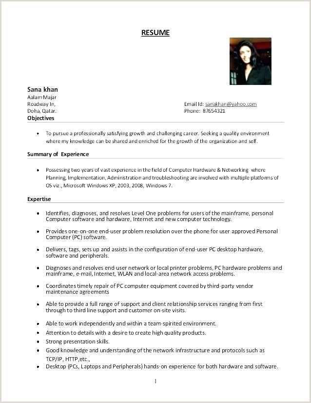 Fresher Resume format for Linux Linux Administrator Resume Free Resume format for Bertemu