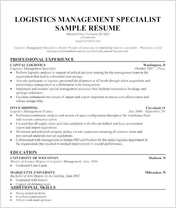 Fresher Resume Format For Logistics Medical Logistic Manager Resume – Dew Drops