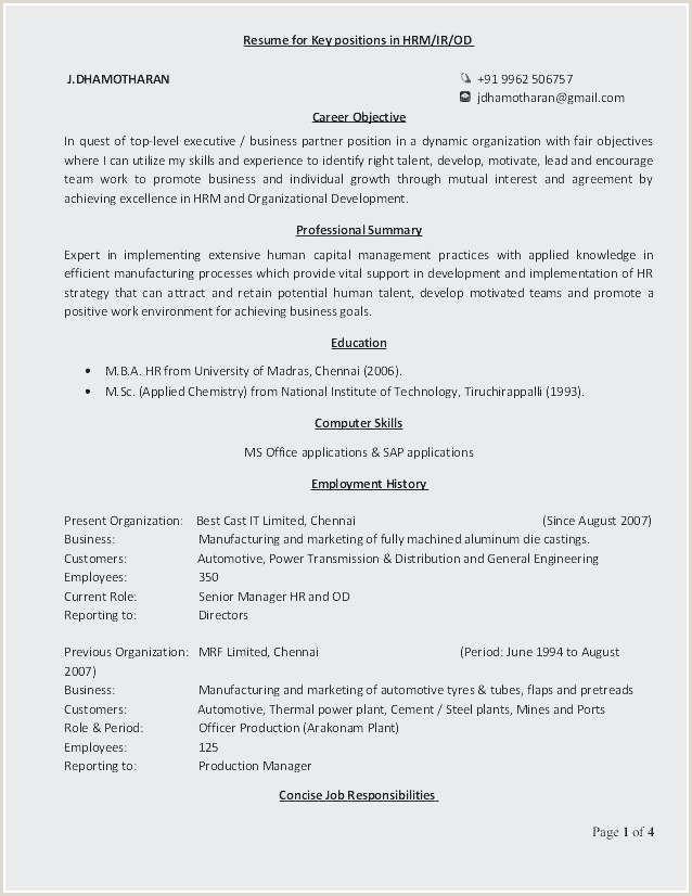 Fresher Resume format for Msc Chemistry Unique Fresher Electrical Engineer Resume Sample