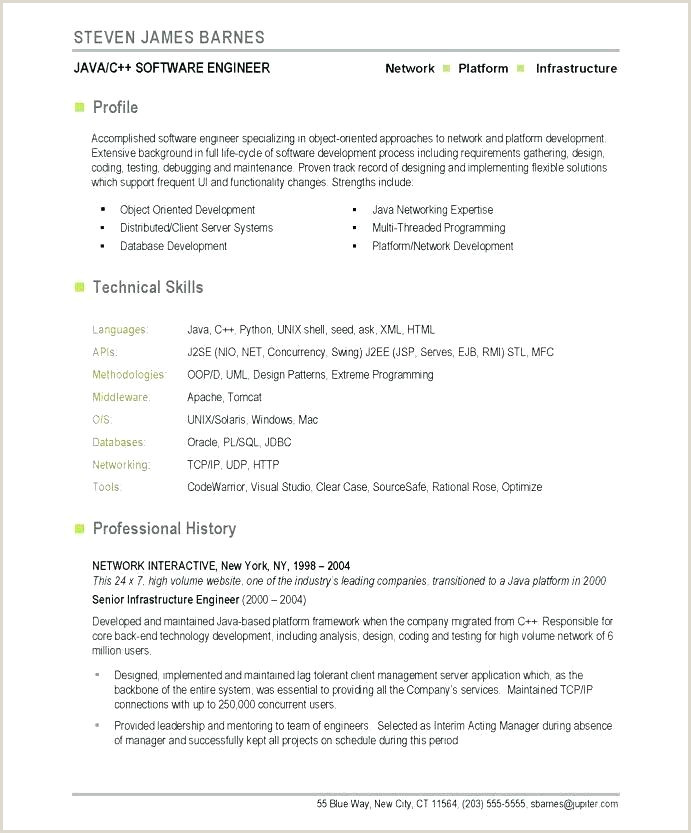 Fresher Resume Format For Networking Fresher Resume Sample For Software Engineer – Newskeyfo