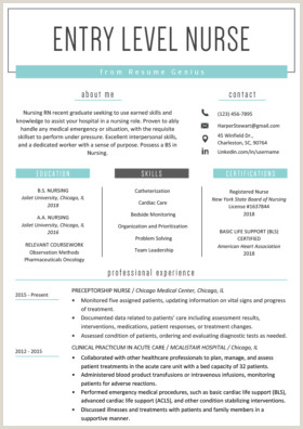 Fresher Resume Format For Nurses Personal Trainer Resume Sample And Writing Guide