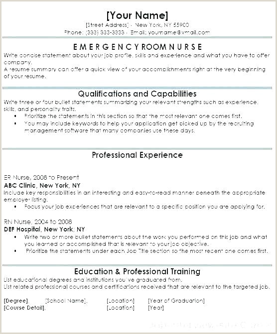Fresher Resume Format For Nurses Resumes Samples Free – Newskeyfo